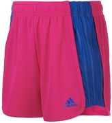 adidas Girls 7-16 Colorblock Mesh Shorts