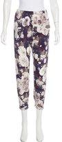Zero Maria Cornejo Silk High-Rise Pants