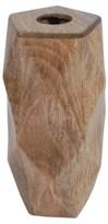 """Threshold 12"""" Wood Vase"""