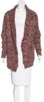 Dries Van Noten Wool-Blend Marled Knit Cardigan