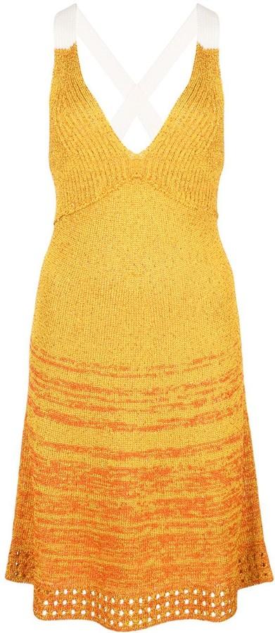 M Missoni sequinned knit dress