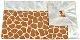MyBlankee My Blankee Giraffe Minky Baby Blanket, 14 X 17, Rust by My Blankee