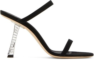 Giuseppe Zanotti Farrah crystal heel sandals