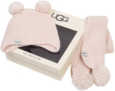 UGG Pom Pom Knit Set Kids