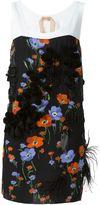 No.21 floral print tank dress