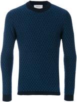 Pringle diamond stitch sweater