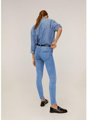 MANGO Kim Skinny Jeans - Blue