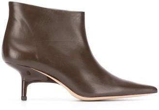 REJINA PYO Sara kitten heel ankle boots