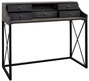 Stylecraft Driftwood Desk w/ Hutch