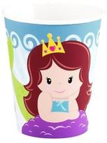 BuySeasons Mermaids 9oz Paper Cups - 8 count