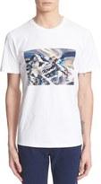 A.P.C. Men's 'Montagne' Graphic Short Sleeve Cotton T-Shirt
