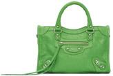 Balenciaga Green Nano City Bag