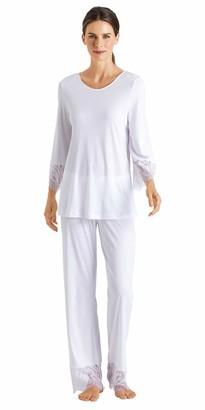 Hanro Women's Makena 3/4 Sleeve Pajama Set