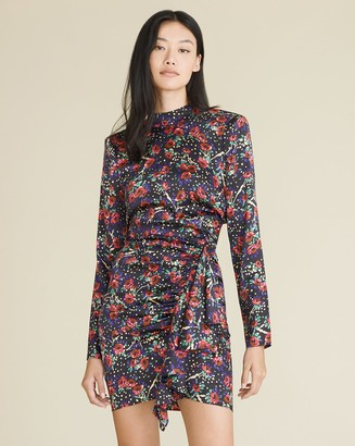 Veronica Beard Louella Floral Minidress