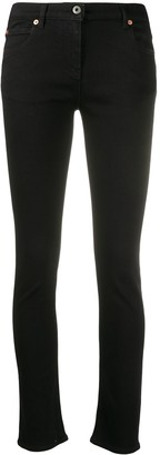 Valentino VLOGO mid-rise skinny jeans