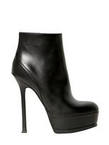 Saint Laurent 140mm Tribute Two Textured Calf Boots