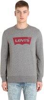Levi's Logo Crewneck Cotton Sweatshirt