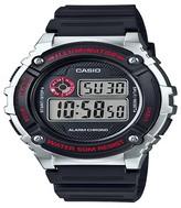 Casio Men's Digital Watch - Black & Silver