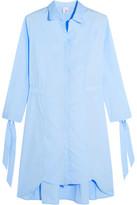 Iris and Ink Cotton-Poplin Shirt Dress