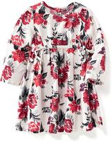 Old Navy Floral Tie-Waist Dress for Baby