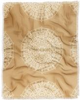 Deny Designs Jacqueline Maldonado Boho Mandala Leather Woven Throw Blanket