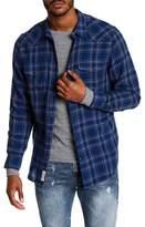 Lucky Brand Santa Fe Western Classic Fit Plaid Shirt