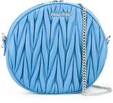Miu Miu matelassé circle shoulder bag