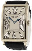 Roger Dubuis MuchMore M34 18K White Gold & Leather 34mm x 47mm Watch