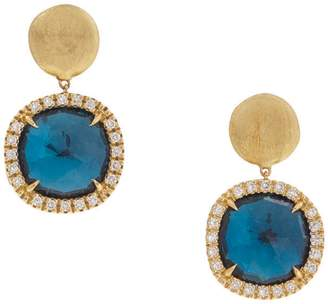 Marco Bicego Jaipur Blue Topaz Drop Earrings