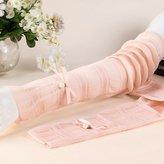 Baiyu Women Lady Summer Long Gloves UV Sun Protection Elastic Driving Gloves Thin ice Silk Long Arm Covers Gloves Sleeves