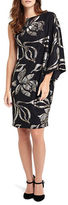 Phase Eight One Sleeve Hester Print Dress