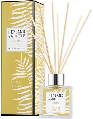 Heyland & Whittle Home Reed Diffuser - Vetiver & Musk