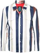 GUILD PRIME striped jacket