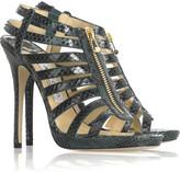 Glenys python sandals