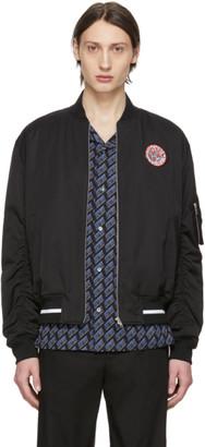 McQ Black Sublime Bomber Jacket