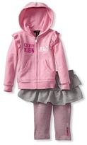 Calvin Klein Baby-Girl's Infant Hooded Top With Skegging