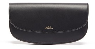 A.P.C. Geneve Leather Wallet - Womens - Black