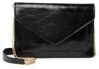 Urban Expressions Vegan Leather Envelope Crossbody Bag