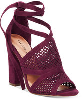 Call it SPRING Rounkles Tie-Up Block-Heel Sandals