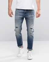 Selected Jeans Anti Fit in Light Blue