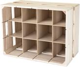 True Wood Crate Wine Rack