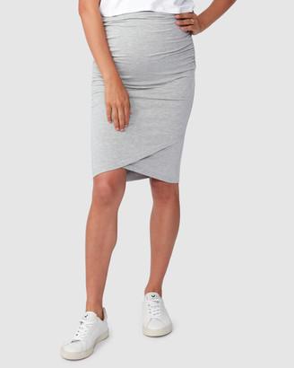Pea In A Pod Maternity Harley Cross Hem Skirt