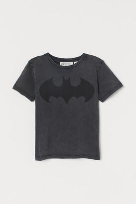 H&M Printed T-shirt - Black