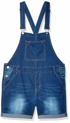 Cover Girl Juniors Cute Denim Overall Shorts Slim fit Bib Strap Sexy