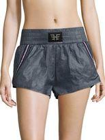 Heroine Sport Striped Inset Sports Shorts