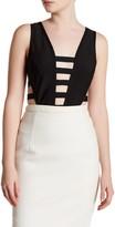 Wow Couture Sleeveless Strappy Bodysuit