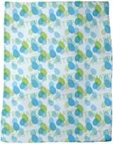 uneekee Happy Easter Blue Blanket: