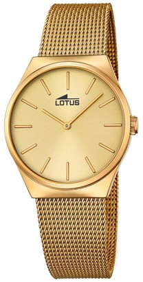 Lotus Women's Analogue Quartz Watch with Stainless Steel Strap 18481/2