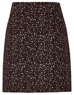 Dorothy Perkins Womens Multi Colour Jacquard Mini Skirt