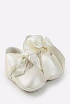 Mayoral White Silk Shoes